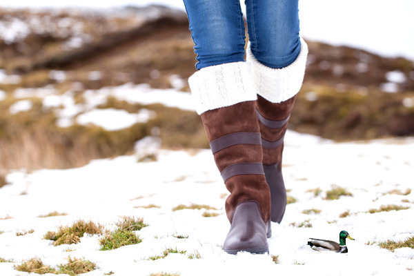 Heerlijke warme sokken in je laarzen - De Blokeend