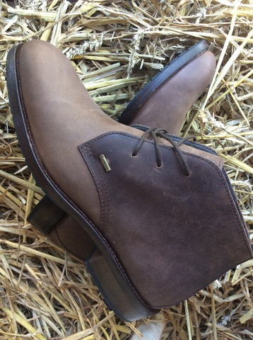Dubarry Herenschoen Waterville kleur bourbon